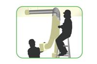 実験室吸気排気ダクト及びフード工事
